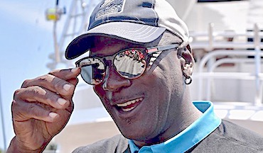 It's no bull, MJ is a wizard at deep-sea fishing at Big Rock Blue Marlin Tournament.