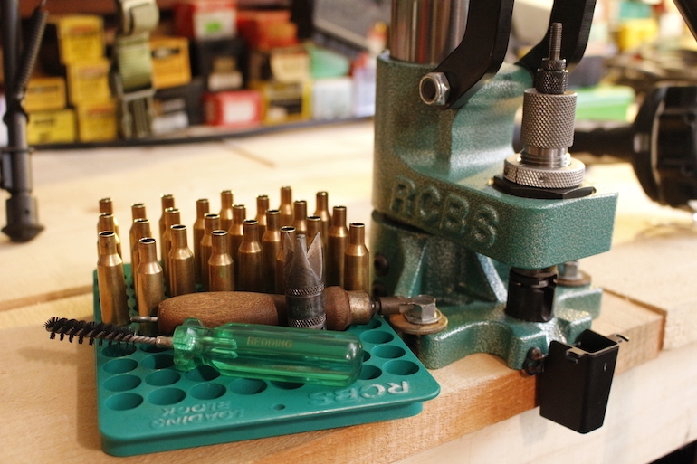 Bare-Bones Gear for Reloading Ammo at Home