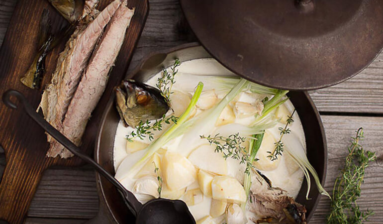 Smoked Fish Chowder Recipe