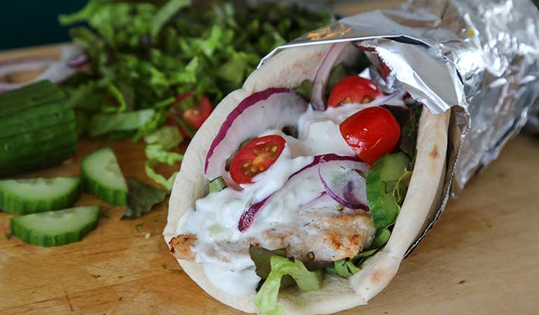 Alligator Greek Gyros Recipe