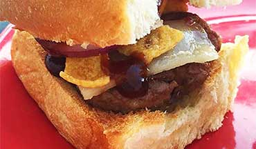 This BBQ Fritos Venison Sliders Recipe makes the perfect backyard barbecue appetizer or game day.