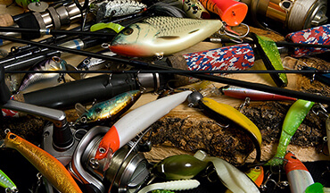 In order to be successful in the summer months when fishing for largemouth and smallmouth bass, an angler will need a variety of lures to be successful as the sun shines and temperatures rise.