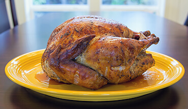 For a succulent and moist turkey, use this homemade brine recipe.