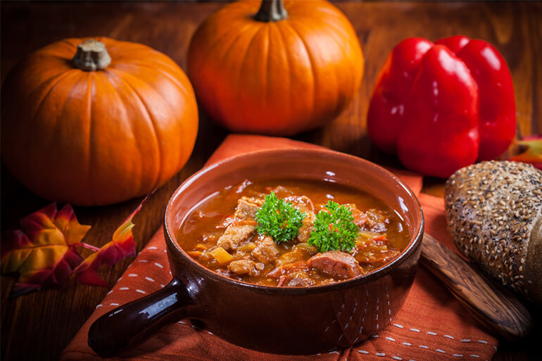 Boar Loin and Pumpkin Stew Recipe