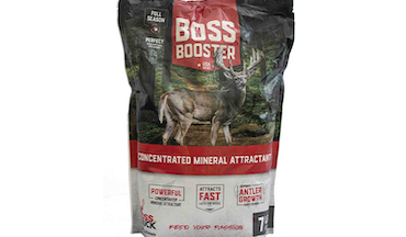 The concentrated mineral attractant is long-lasting, irresistible.