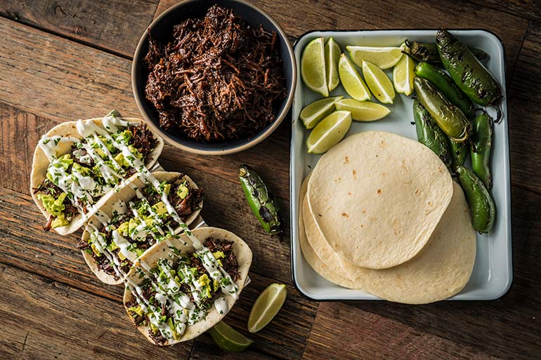 Braised Wild Game Shredded Tacos Recipe