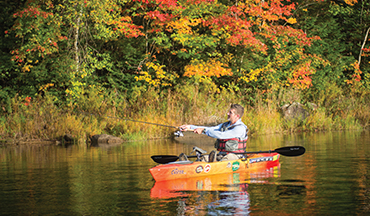 In fall, the days get shorter, temperatures begin to drop and smallmouths strap on the feedbag.
