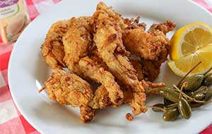 The Deep South is known for some exotic culinary delights and frog legs is one of them; this Cajun-style and fried recipe is a great way to enjoy them.