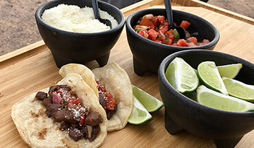 Need an easy-to-fix meal for Super Bowl party guests? Give Camp Chef's Venison Street Tacos Recipe a try!