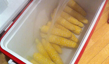 This cooler corn on the cob recipe is so easy, you are going to think,