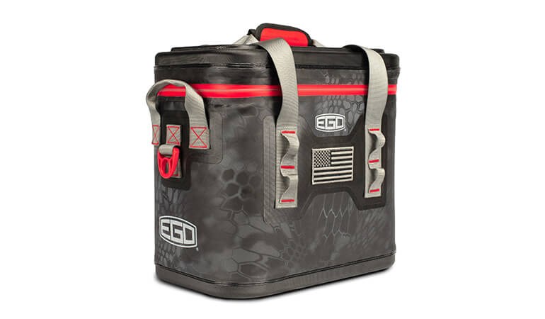 EGO Fishing Coolers in Kryptek Camo