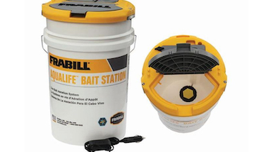 Frabill's Aqua-Life bait products keeps minnows alive and you fishing.