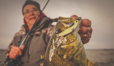 Use these presentations to boat more cold-water bass as the season winds down.