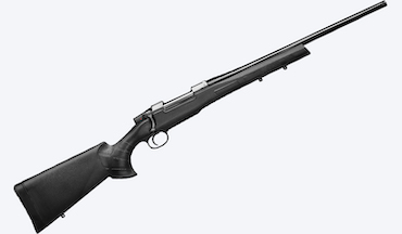The new bolt gun with a synthetic stock is available in several popular hunting chamberings.