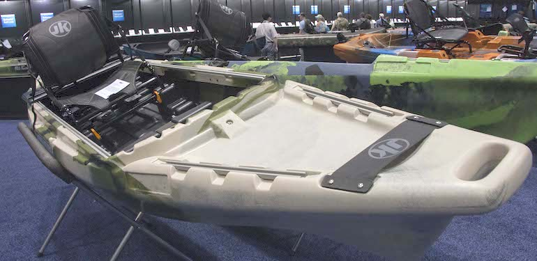New Breed of Fishing Kayaks Packed with Features