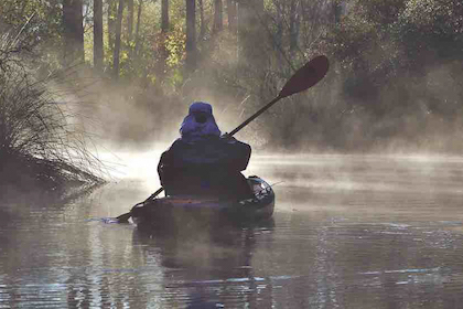 From West to East, North to South, these waters are perfect for kayak anglers.