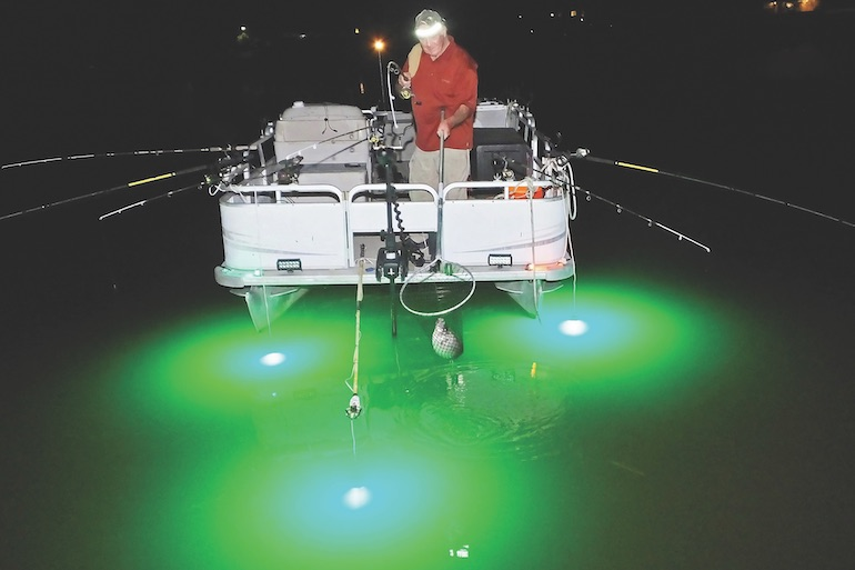 Work the Night Shift for After-Dark Crappies