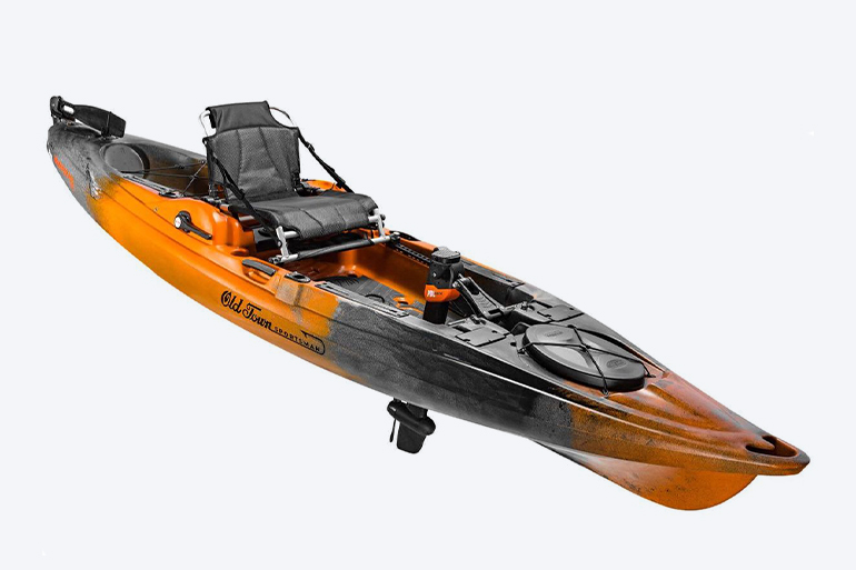 Full-Featured Pedal-Powered Fishing Kayak A Great Find