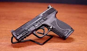 Optics-ready handgun, ultimate sound suppression via Smith & Wesson.