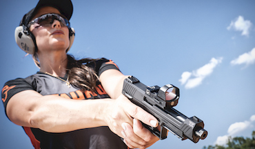 TaurusTX 22 Competition is next step for ground-breaking sporting pistol.