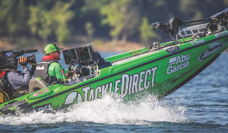 This Major League Fishing Bass Pro Tour angler learned the tools of the bass trade on the salt.