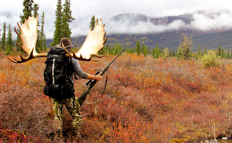 Nothing is quite as right as losing oneself to Alaska's wild country in pursuit of a monster DIY moose.