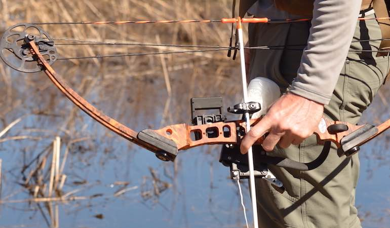 A bow has to work with an individual in fit and performance, and if it doesn't, the whole process suffers.
