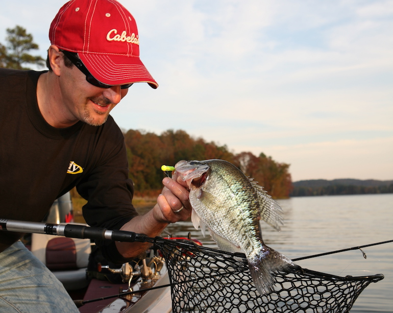 Spring is the time to hit the Natural State's crappie waters in search of slabs.