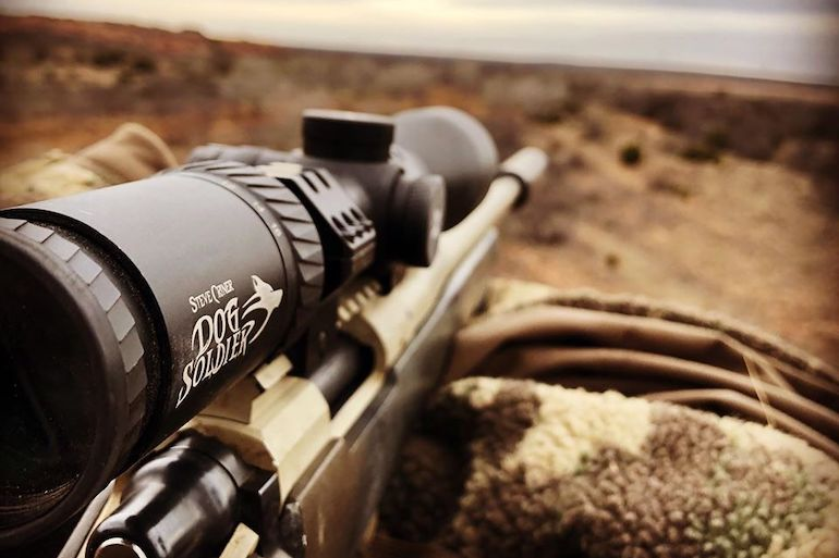 Made for unforgiving conditions, the new Axeon Dog Soldier 4-16x50, 30mm-tube riflescope is tough and a great choice for predator hunting.