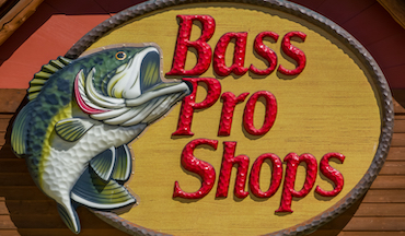 Commercial from Bass Pro Shops/Cabela's promotes hunting, fishing, camping.