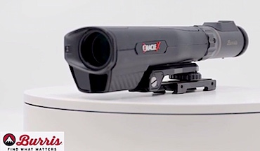 The Burris Oracle X is the first and most advanced range-finding crossbow scope on the market, building on the company's long successes with range-finding optics like the Eliminator riflescope.