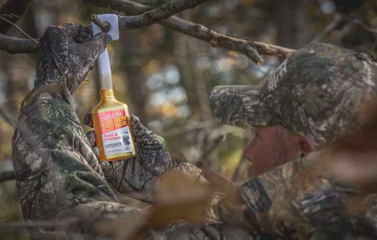 Tink's, Wildlife Research Center fund new 'breakthrough' testing protocol for deer-hunting attractants.