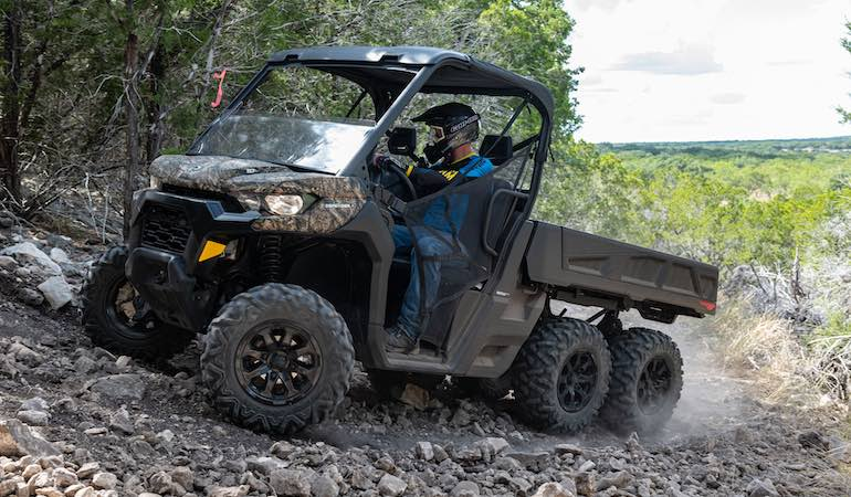 There's a lot to like about what's new in 2020 Can-Am Defender line.