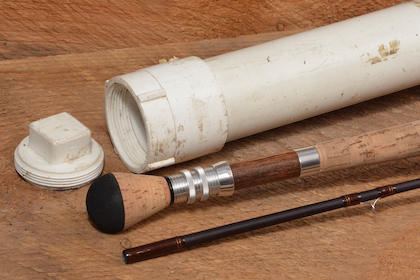 4 steps to building a sturdy fishing-rod case with PVC pipe for protection during travel