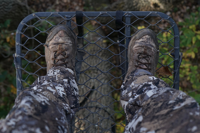 Don't Just Sit There; Consider Making a Treestand Move