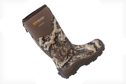 The hi-calf hunting boot has all the necessary features a hunter asks for in reliable footwear.