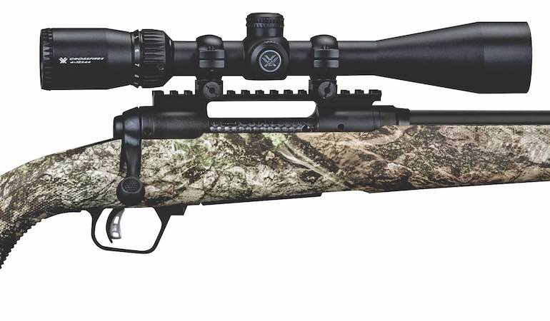 The affordably priced package rifle comes ready to hunt, and that's bad news for coyotes.