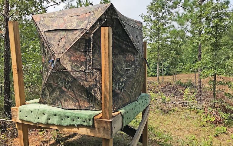 Build Elevated Deer Blinds On A Budget