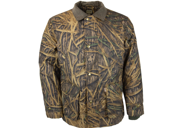The outdoor apparel company says its classic jacket will come in Shadowgrass pattern.