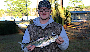 The record hickory shad is the first record of 2021 in Georgia.
