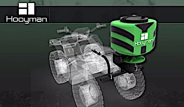 The new spreaders will be available in midsummer 2021, just in time for fall food-plot planting.