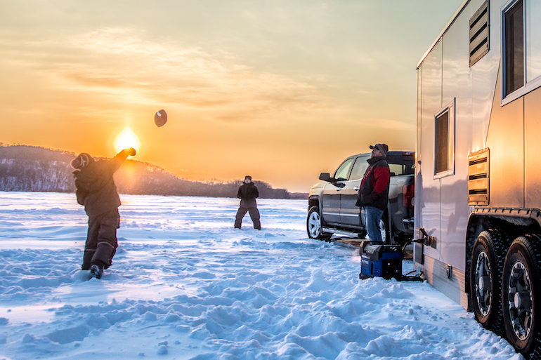 Stay and Go to Up Your Ice-Fishing Success