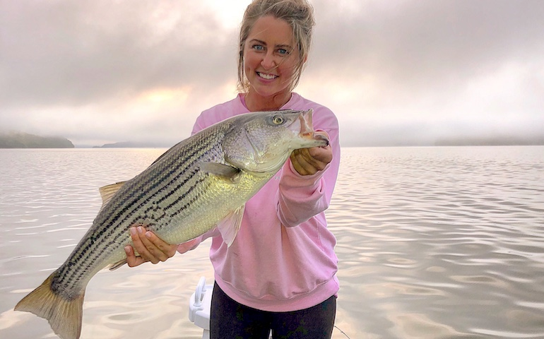 Kentucky Afield Outdoors: This weather makes stripers in Lake Cumberland hungry.