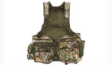 With 14 pockets, there is ample room for all your turkey hunting gear.