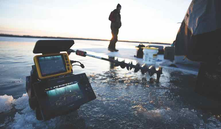 Lake of the Woods offers fantastic action, from early ice until late in the hardwater season.