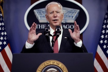 Op/Ed by National Shooting Sports Foundation on President Joe Biden's first Congressional address.