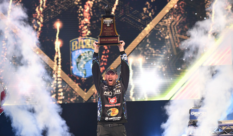 After years of close calls and wondering, Ott DeFoe rallies for final day Bassmaster Classic win on his home waters near Knoxville, Tenn.