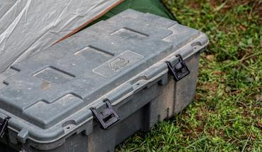 Plano's Sportsman's Trunks and Shelf Units help keep everything organized and easy to access.