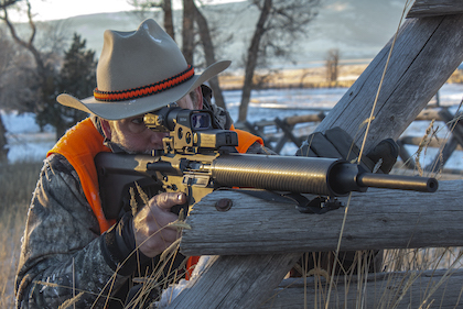 Red-dot sights can excel for fast shooting at short distances, but hunters should also consider their limitations.