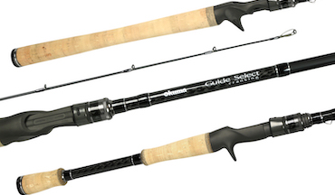 Here is a look at 21 new baitcasting rods unveiled at fishing trade show.